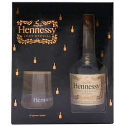 Cognac Hennessy Con Copas Botella 700 mL