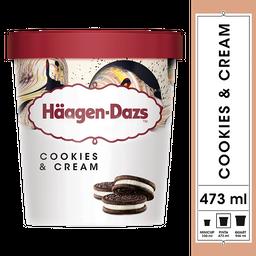 Helado Häagen Dazs Cookies & Cream 474mL