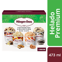 Helado Häagen-Dazs Favorite Selection 4 U