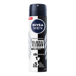 Nivea Antitranspirante Men Invisible Power Spray 150 mL