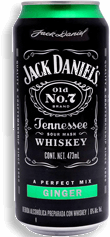 Cooler Jack Daniels Ginger 473 mL