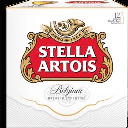 Cerveza Stella Artois Belgium Lager 330 mL x 12