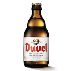 Cerveza Duvel Clara Botella 330 mL