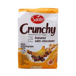 Granola Sante Crunchy Con Plátano y Chocolate 350 g