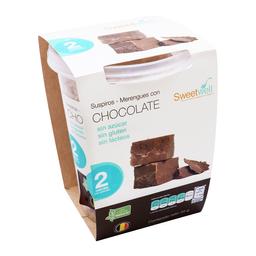 Merengue Chocolate Sweetwell Sin Azúcar 35 g