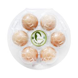 Huevo Granjas La Murlota Orgánico Rojo 6 U