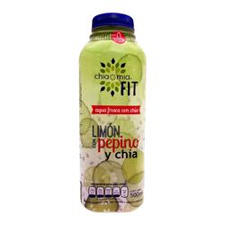 Agua Fresca Limon Pepino Con Chia