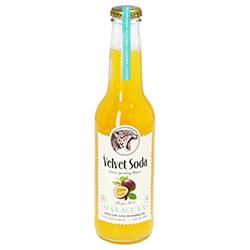 Soda con Jugo de Maracuyá Velvet Soda 275 mL