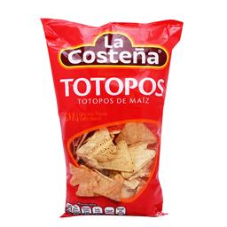 Totopos La Costeña de Maíz sin Grasa  280 g
