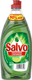 Lavatrastes Líquido Salvo Limón 500 Ml