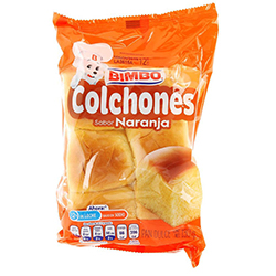 Colchones Bimbo Naranja 130 g
