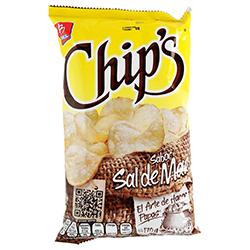 Botana Chip's Sal de Mar 170 g