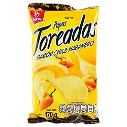 Botana Toreadas Habanero 170 g