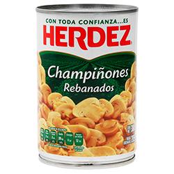 Champiñones Herdez Rebanados 380 g