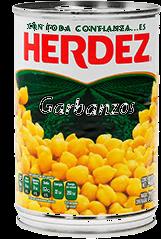 Garbanzos Herdez 400g