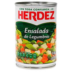 Ensalada Herdez de Legumbres 400 g
