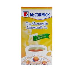 Té de Manzanilla McCormick 25 U