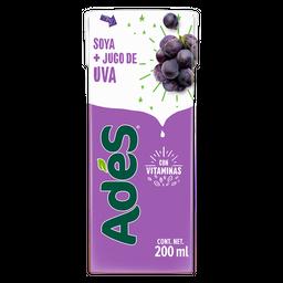 Bebida a base de soya con jugo de uva