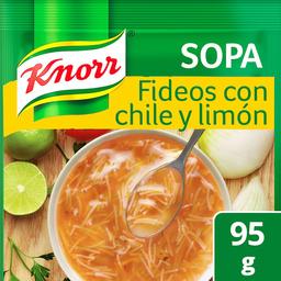 Knorr Pasta Instantánea Fideo Chile y Limón