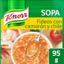 Knorr Pasta Sopa de Fideos Camarón y Chile