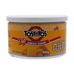 Dip Tostitos Queso Suave 255 g