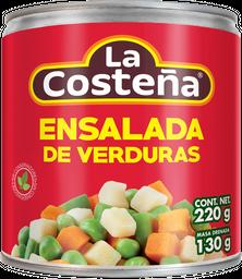 Ensalada La Costeña de Verduras 220 g