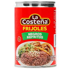 Frijoles La Costeña Negros Refritos 310 g