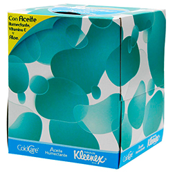 Pañuelos Desechables Kleenex Cold Care Aceite Humectante 66 U