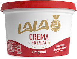 Crema Lala Entera Acidificada 450 mL