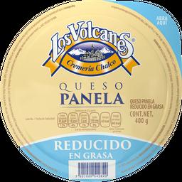Queso Panela Los Volcanes Panela Reducido en grasa 400 g