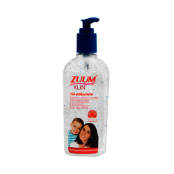 Gel Antibacterial Zuum Klin 250 mL