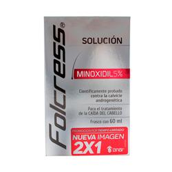 Tratamiento Capilar Folcress Minoxidil Fase Inicial 60 mL X 2