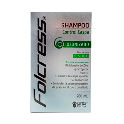 Shampoo Folcrees Control Caspa 260 mL