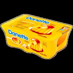 Flan De Vainilla Con Caramelo Danette 6 X 100G
