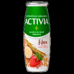 Alimento Lacteo Activia Fresa Y Plátano Con Cereales 225G