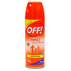 Repelente de Mosquitos Off Family Skintastic 170 g