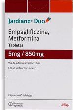 Jardianz Duo 60 Tabletas (5 mg/850 mg)