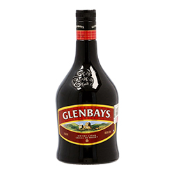 Crema de Whisky Glenbays Botella 750 mL