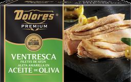 Ventresca de Atún Dolores Premium en Aceite de Oliva 120 gr