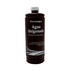 Agua Oxigenada Farmacom 480 mL