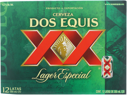 Cerveza Dos Equis Lager Especial Lata 355 mL x 12