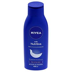 Crema Corporal Nivea Milk Nutritiva Piel Extra Seca 400 mL