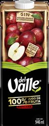 Del Valle 100% Jugo de Manzana Cartón 946ml