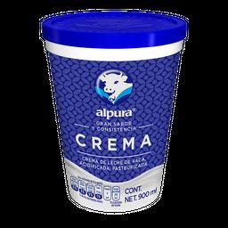 Crema Alpura Entera 900 mL