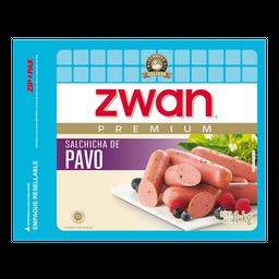 Salchicha de Pavo Zwan 1 Kg