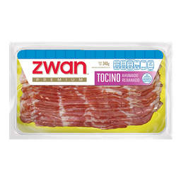 Tocino Zwan Ahumado Rebanado 340 g