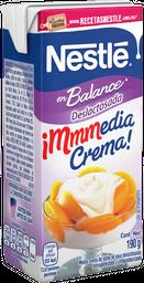 Media crema Nestlé Deslactosada 190 g