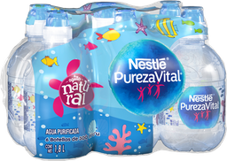 Agua Nestlé Agüitas Natural 300 mL x 6