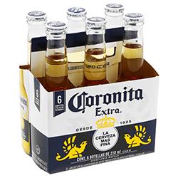 Cerveza Coronita Extra 210 mL x 6