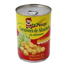 Corazones de Alcachofa La Pasiega en Salmuera 390 g